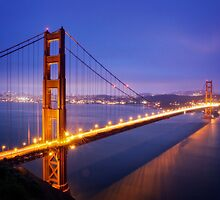 San Francisco Golden Gate Bridge by heyengel