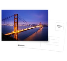 San Francisco Golden Gate Bridge Postcards