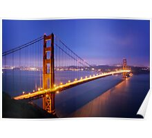San Francisco Golden Gate Bridge Poster