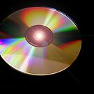 CD with Light Flare by Dana Roper