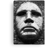 Mask of Steel Canvas Print