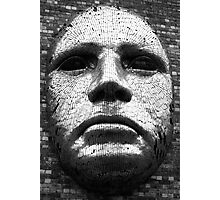 Mask of Steel Photographic Print