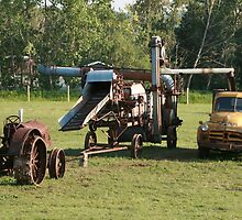 farm equipment by David M. Bull