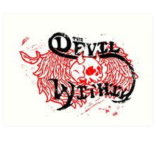 The Devil Within Art Print