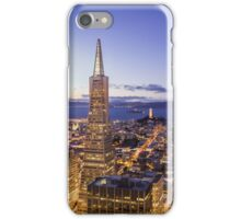 San Francisco Skyline at Night iPhone Case/Skin
