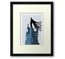 The Dark Knight Rises (Ice) Framed Print