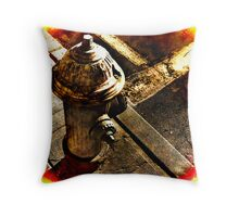 The Water Hydrant Throw Pillow