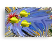 Fantasy Fish; Colour my World Canvas Print