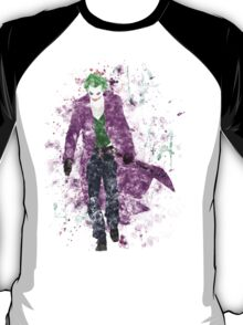 SuperVillain Splatter Graphic T-Shirt