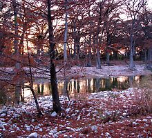 sunset on the frio by aminner
