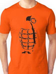 Penguin Grenade  Unisex T-Shirt