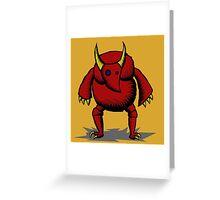 El toro Greeting Card