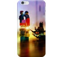 Batman and Robin Battle Penguin's Gang iPhone Case/Skin