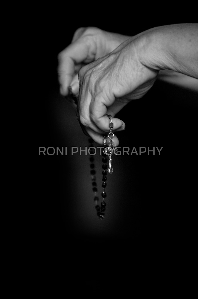 The Prayer and The Rosary by RONI PHOTOGRAPHY