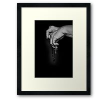 The Prayer and The Rosary Framed Print