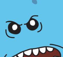 Angry Mr. Meeseeks Sticker