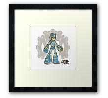 Steam Man Framed Print
