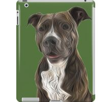 Pit Bull Terrier Oil Painting Style iPad Case/Skin