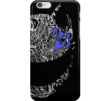 celty durarara custom iPhone Case/Skin