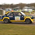 Fiat 131 Abarth Rallye by Willie Jackson