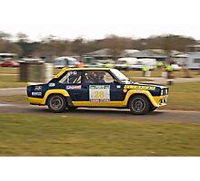 Fiat 131 Abarth Rallye Photographic Print