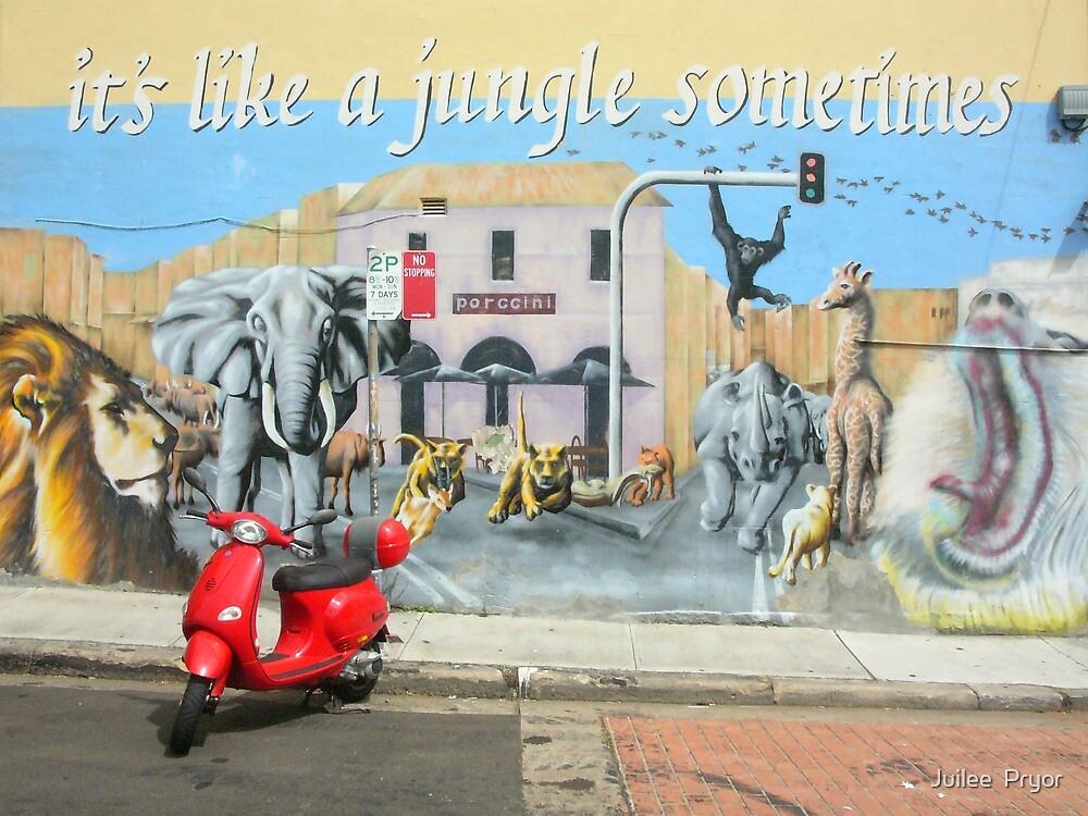 it's like a jungle sometimes..... by Juilee  Pryor