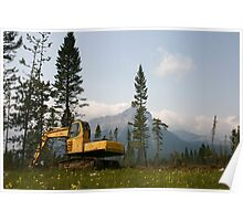 Logging Equipment Poster