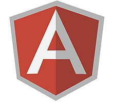 angularjs Photographic Print