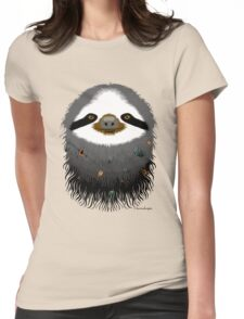Sloth buggy Womens Fitted T-Shirt