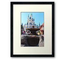 Sword & Stone Framed Print