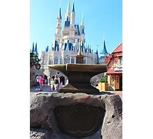 Sword & Stone Photographic Print
