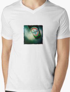 Becks Mens V-Neck T-Shirt