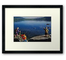 Small World #5 Framed Print
