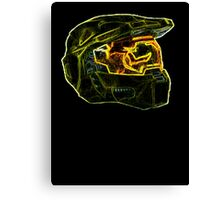 Neon Halo Canvas Print
