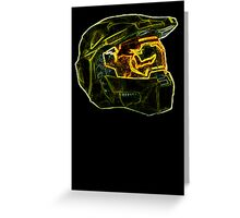 Neon Halo Greeting Card