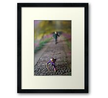 Small World #1 Framed Print