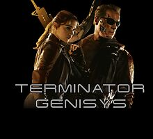 Terminator Genisys Sarah Connor & T-800 by SpiderReviewer