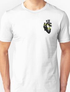 Deminonbinary Pride Heart (with black detail) T-Shirt