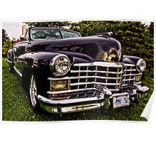 1947 Caddy Convertible Poster