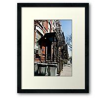 Everyday life 01 Framed Print