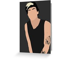Calum Hood Greeting Card