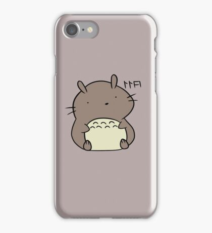 Totoro Hamster iPhone Case/Skin