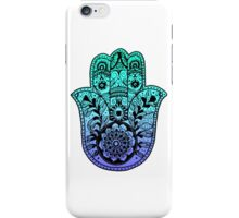 Blue Ombre Hamsa iPhone Case/Skin