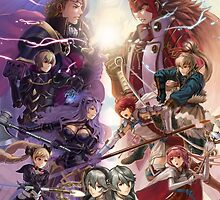 Fire Emblem if / Fates - Hoshido and Nohr by AlfredKamon