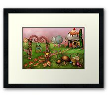 Dessert - Sweet Dreams Framed Print