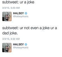 Halsey Tweets by emijanelle