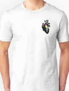 Demiflux Pride Heart (with black detail) T-Shirt