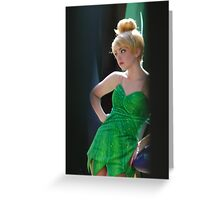 Pondering Tinkerbell Greeting Card
