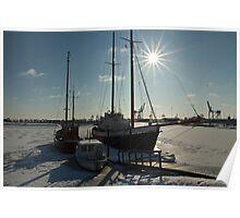 Frozen Harbor (2) Poster