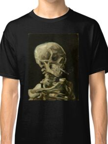 Vincent Van Gogh smoking skeleton Classic T-Shirt